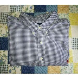 Ralph Lauren L/S Gingham Check Button Shirt Pony